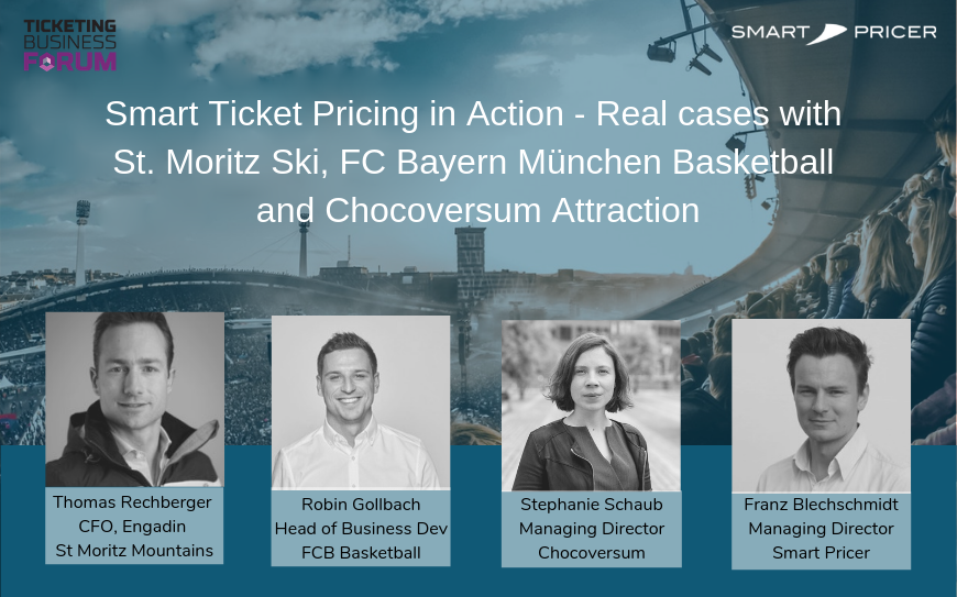 Smart Ticket Pricing in Action – Real Cases with St Moritz, FCB Basketball, and Chocoversum