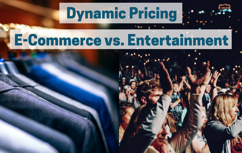 The difference of Dynamic Pricing in retail to entertainment